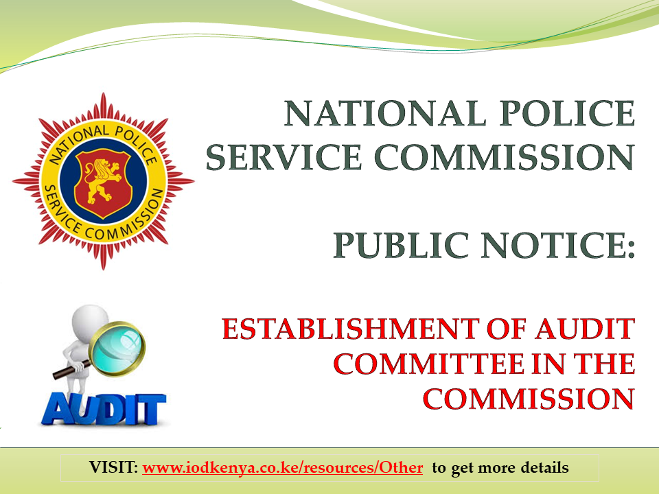 NATIONAL POLICE SERVICE COMMISSION